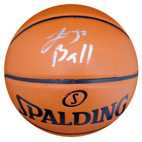 e0e1485f8ed Lonzo Ball Hand Signed NBA Basketball